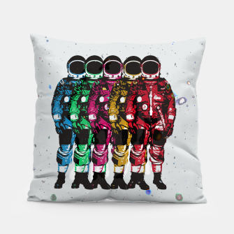 Thumbnail image of Dudes II Pillow, Live Heroes