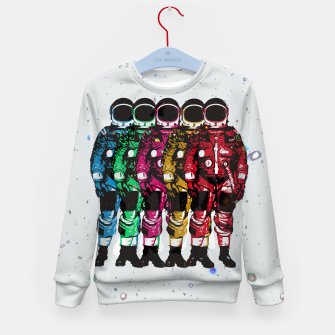 Thumbnail image of Dudes II Kid's sweater, Live Heroes