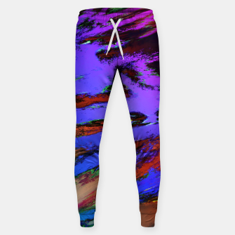 Thinking skies blue Sweatpants obraz miniatury