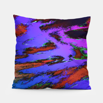 Thinking skies blue Pillow obraz miniatury