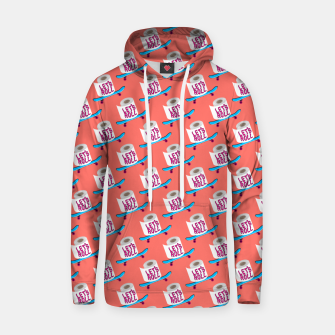 Miniature de image de Let's Roll! / Living Coral / seamless pattern. Hoodie, Live Heroes