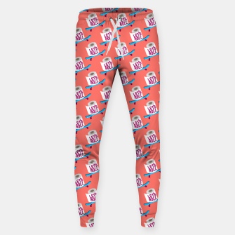 Miniature de image de Let's Roll! / Living Coral / seamless pattern. Sweatpants, Live Heroes