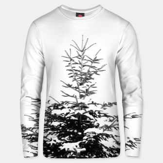 Miniaturka Fir Tree Covered With Snow Unisex sweater, Live Heroes