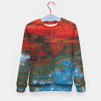 Thumbnail image of natura Kid's sweater, Live Heroes