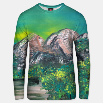 Thumbnail image of liniste Unisex sweater, Live Heroes