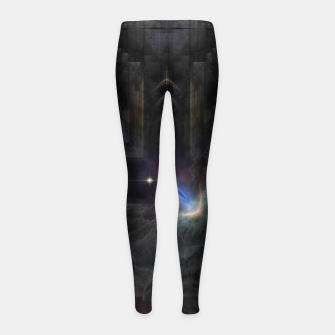 Thumbnail image of ROO-M1I45O315 Girl's leggings, Live Heroes