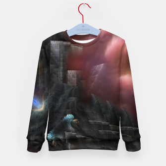 Thumbnail image of ROO-M1I45O315 Kid's sweater, Live Heroes