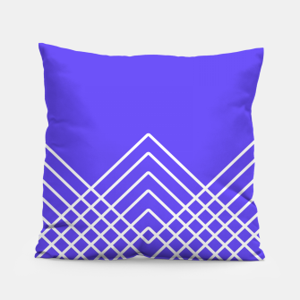 Miniaturka Abstract geometric pattern - blue and white. Pillow, Live Heroes