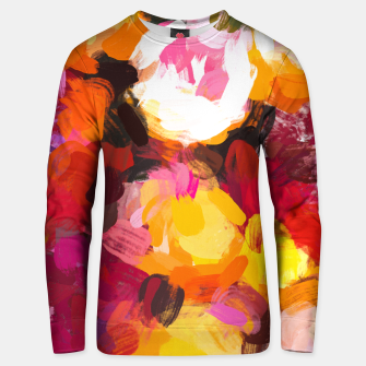 Thumbnail image of Delicious Floral Unisex sweater, Live Heroes