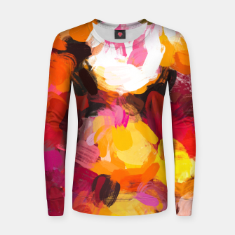 Thumbnail image of Delicious Floral Women sweater, Live Heroes