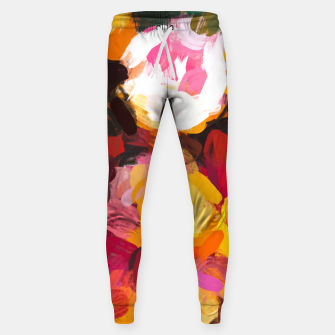 Thumbnail image of Delicious Floral Sweatpants, Live Heroes