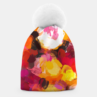 Thumbnail image of Delicious Floral Beanie, Live Heroes