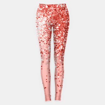 Miniature de image de Sparkling Living Coral Lady Glitter #1 #shiny #decor #art  Leggings, Live Heroes