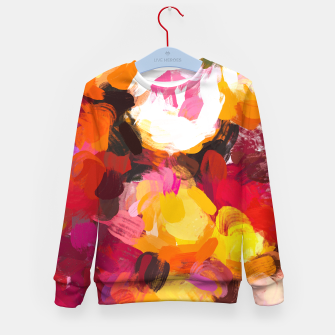 Thumbnail image of Delicious Floral Kid's sweater, Live Heroes