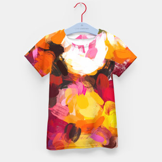 Thumbnail image of Delicious Floral Kid's t-shirt, Live Heroes