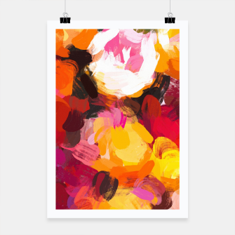 Thumbnail image of Delicious Floral Poster, Live Heroes