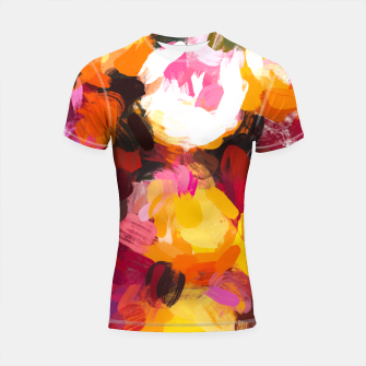 Thumbnail image of Delicious Floral Shortsleeve rashguard, Live Heroes