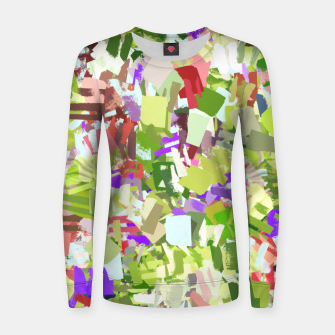 Thumbnail image of Green Freshness Women sweater, Live Heroes