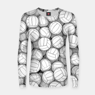 Thumbnail image of All I Want To Do Is Volleyball Women sweater, Live Heroes