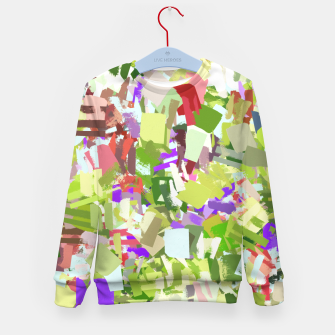 Thumbnail image of Green Freshness Kid's sweater, Live Heroes