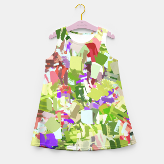 Thumbnail image of Green Freshness Girl's summer dress, Live Heroes