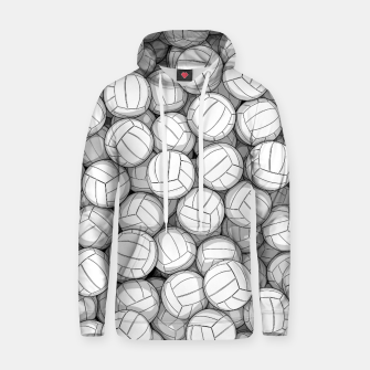 Miniatur All I Want To Do Is Volleyball Hoodie, Live Heroes