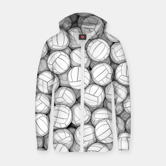 Miniatur All I Want To Do Is Volleyball Zip up hoodie, Live Heroes