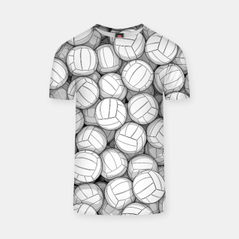 Miniatur All I Want To Do Is Volleyball T-shirt, Live Heroes