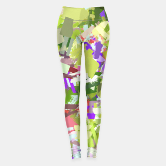 Thumbnail image of Green Freshness Leggings, Live Heroes