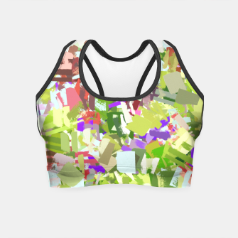 Thumbnail image of Green Freshness Crop Top, Live Heroes