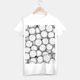 Thumbnail image of All I Want To Do Is Volleyball T-shirt regular, Live Heroes