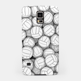 Miniatur All I Want To Do Is Volleyball Samsung Case, Live Heroes