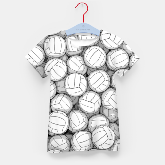 Miniatur All I Want To Do Is Volleyball Kid's t-shirt, Live Heroes