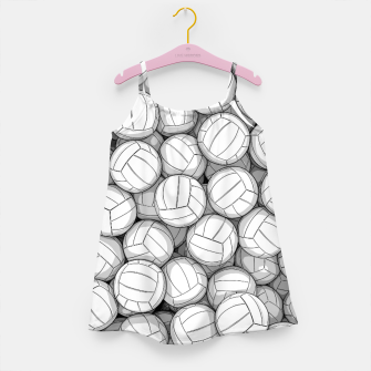 Miniatur All I Want To Do Is Volleyball Girl's dress, Live Heroes