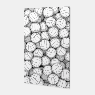 Thumbnail image of All I Want To Do Is Volleyball Canvas, Live Heroes
