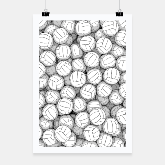 Thumbnail image of All I Want To Do Is Volleyball Poster, Live Heroes