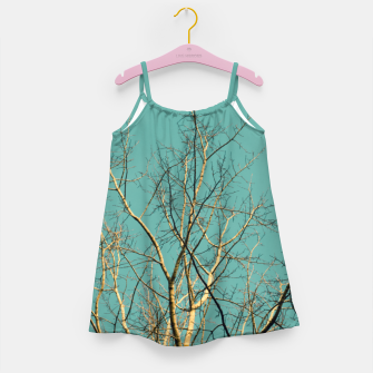 Miniaturka Branches Girl's dress, Live Heroes