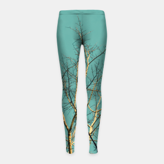 Thumbnail image of Branches Girl's leggings, Live Heroes
