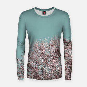 Miniatur Drying leaves Women sweater, Live Heroes