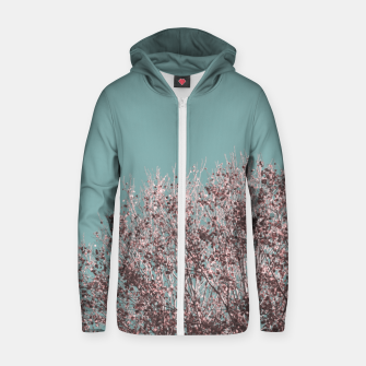 Miniatur Drying leaves Zip up hoodie, Live Heroes