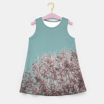 Miniatur Drying leaves Girl's summer dress, Live Heroes
