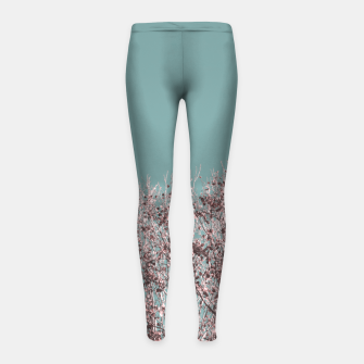Miniatur Drying leaves Girl's leggings, Live Heroes