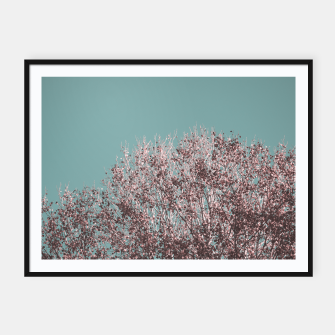 Miniatur Drying leaves Framed poster, Live Heroes
