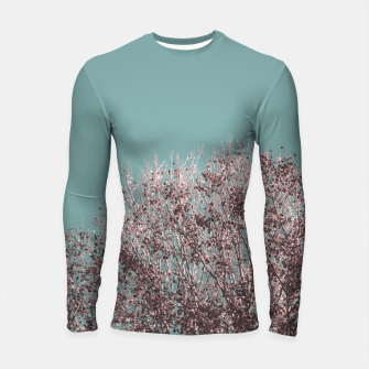 Miniatur Drying leaves Longsleeve rashguard , Live Heroes