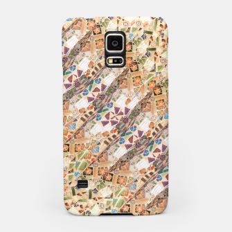 Thumbnail image of Colorful Mosaic Collage Print Pattern Samsung Case, Live Heroes