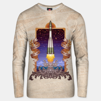 Thumbnail image of Vostok 1 - First Human Spaceflight Unisex sweater, Live Heroes