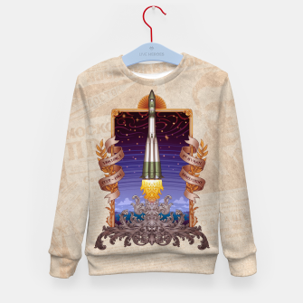 Thumbnail image of Vostok 1 - First Human Spaceflight Kid's sweater, Live Heroes