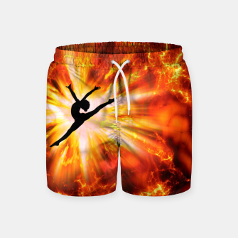 Thumbnail image of Ballet Dancer Swim Shorts, Live Heroes