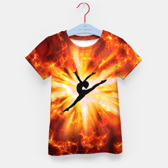 Thumbnail image of Ballet Dancer Kid's t-shirt, Live Heroes