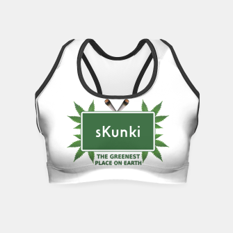 Thumbnail image of sKunki Crop Top, Live Heroes